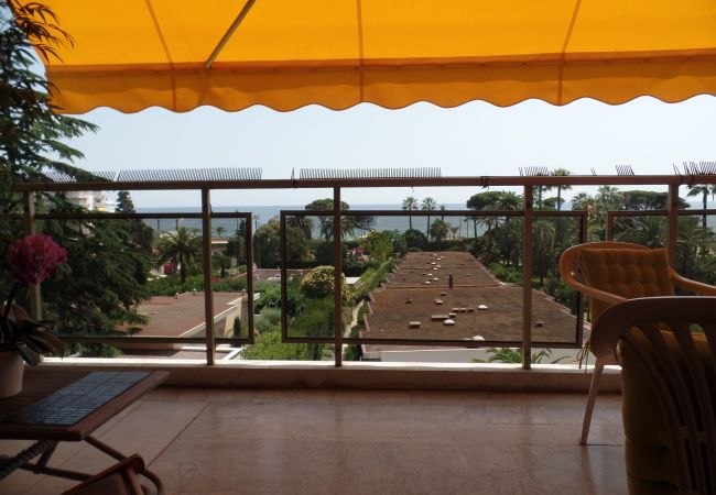 Appartement à Cannes - 203L MAZ - Bord de mer, gde terrasse vue mer, pisc
