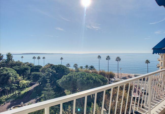 Appartement à Cannes - 223L FOV - Belle terrasse vue mer , 2 pas des pl