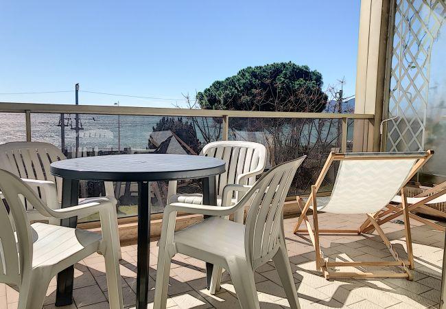 Appartement à Cannes-la-Bocca - 228L ROU - Bord de mer, terrasse vue mer