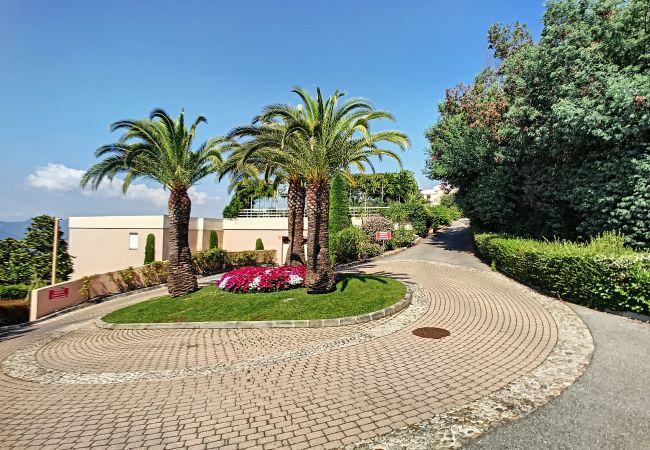 Appartement à Cannes - 255L PAY - Grande terrasse, jolie vue mer, piscin
