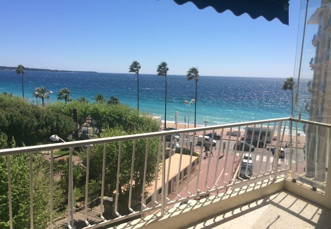 Apartment in Cannes - 215L  KERN - Situation, vue mer, terrasse exceptio