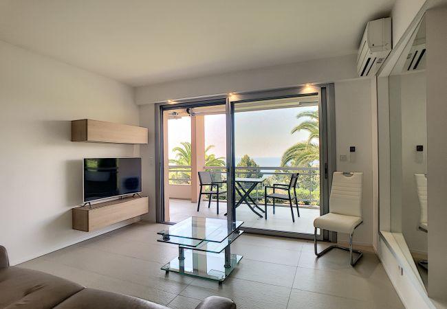 Apartment in Cannes - 255L PAY - Grande terrasse, jolie vue mer, piscin