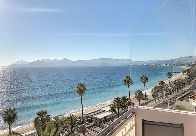 Apartment in Cannes - 260L AUB - Situation et vue mer exceptionnelle