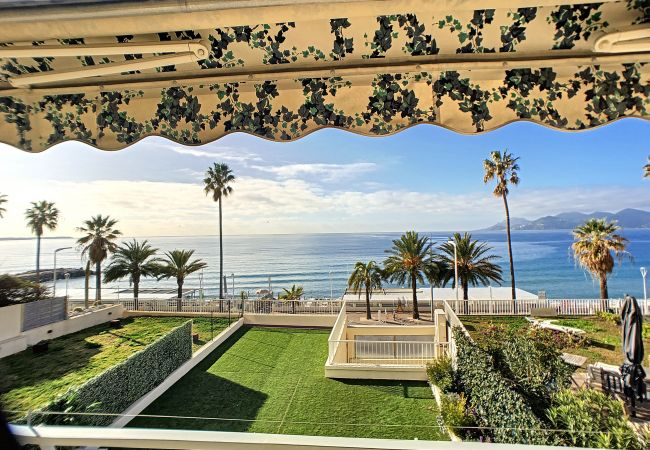 Apartment in Cannes - Front de mer, superbe terrasse vue mer 283L/CHANS